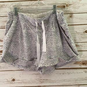 Lululemon shorts size 12 white print